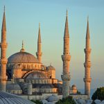 The Blue Mosque in Turkey
